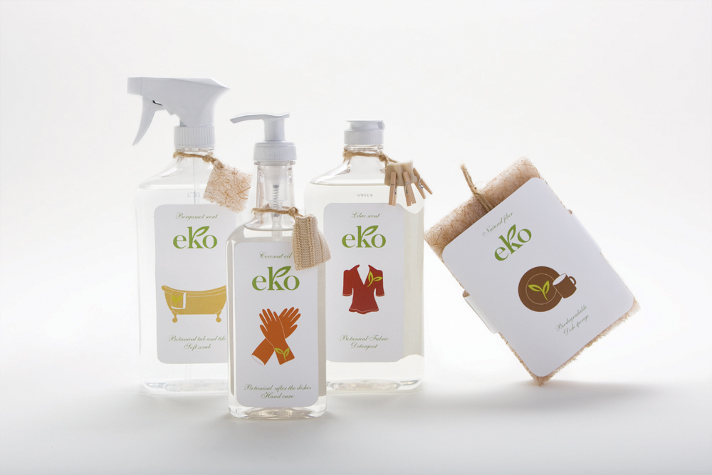 Elo's distinctive EKO packaging design
