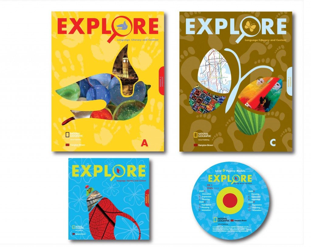 Elo's artistic 'Explore' range of book covers