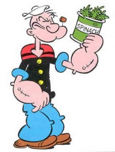 popeye spinach packaging polymers