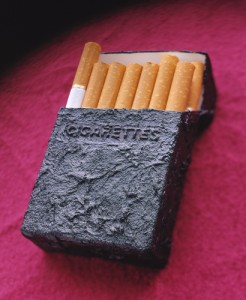 Unbranded cigarette packaging - the answer?