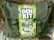The revised Den Kit packaging