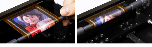 Sony's Rollable OTFT screen