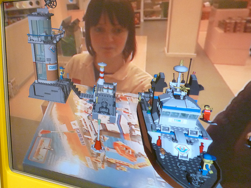 Lego AR POS packaging demo