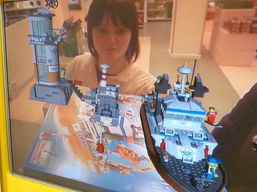 Lego AR POS packaging demo