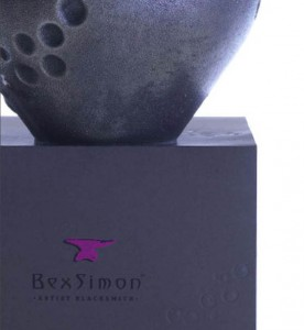 Bex's alluring carton branding with pink logo & embossed bubbles