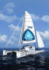 Plastiki - David de Rothschild's yacht made of recycled PET bottles