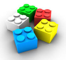 lego bricks - crop
